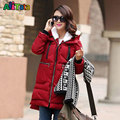 Hooded Maternity Winter Jacket Coat for Pregnant Women Pregnancy Coats Outerwear Jackets Coats Military Thicken 2017 NEW TB9000