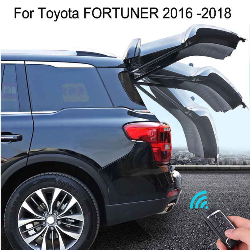 Auto Electric Tail Gate for Toyota FORTUNER 2016 2017 2018 Remote Control Car Tailgate LiftAuto Electric Tail Gate for Toyota FORTUNER 2016 2017 2018 Remote Control Car Tailgate Lift