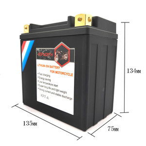 Image 3 - KP7 A Lithium iron Motorcycle Starte Battery 12V 7Ah CCA 260A LiFePO4 Motorbike Battery LFP Built in BMS For ATVs UTVs Scooter