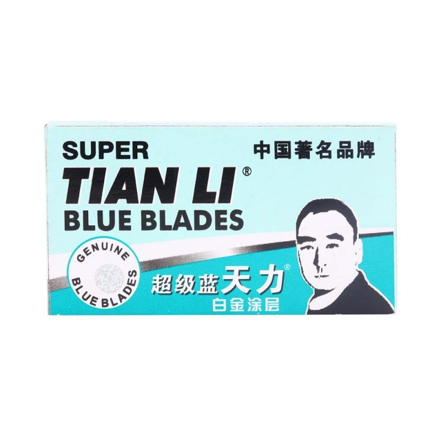 50pcs/lot Safety Razor Blade For Men Super Stainless Blue Shaving Blades Sharpener Double Edge Razor Blades Replacement Heads 1