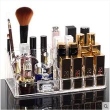 Dazzle color transparent cosmetic collection box