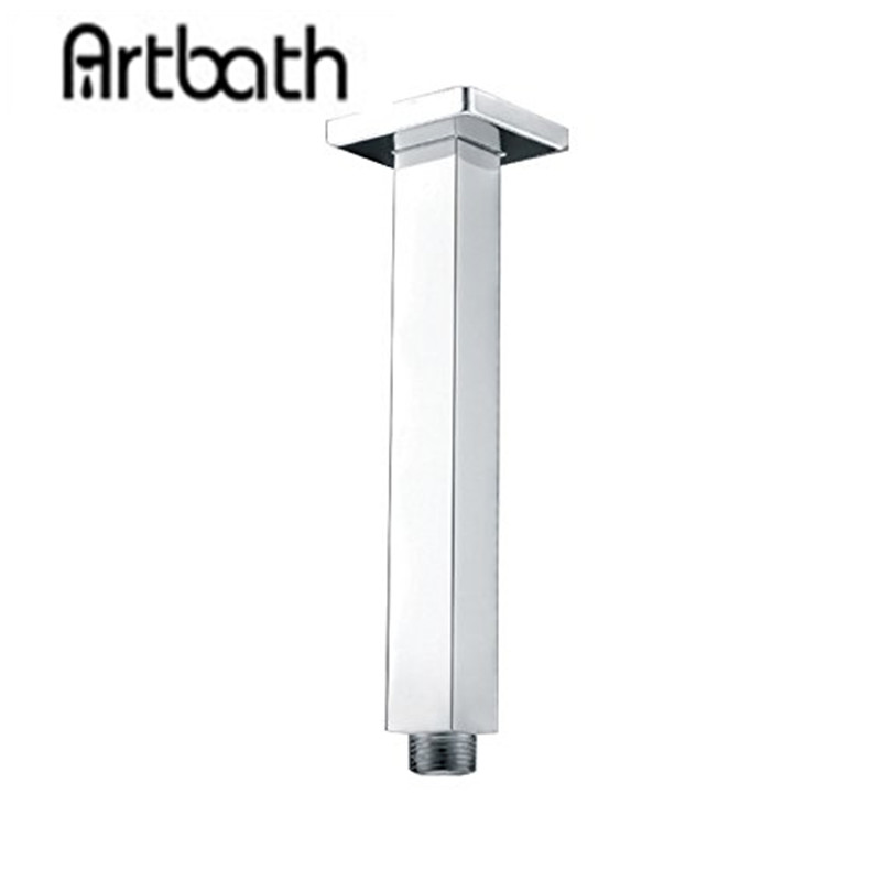 Artbath Square 200mm Shower Arm Wall Mounted Arm of Solid ...