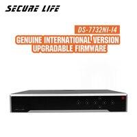Бесплатная доставка DS 7732NI I4 английская версия 32CH 4 К NVR с 4 SATA и POE, HDMI до 4 К, ANR, сигнализация записи на до 12 МП