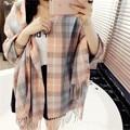 Fashion Spring Fall Winter Scarf Women Scarf Cashmere Warm Plaid Pashmina Scarf Blanket Wraps Female Scarves And Shawls
