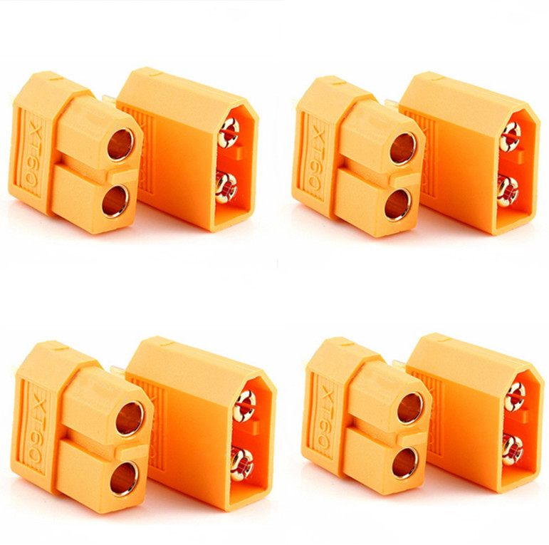 10pcs XT60 XT-60 Male Female Bullet Connectors Plugs For RC Lipo Battery  Wholesale Flight Controller (5 pair)(China)