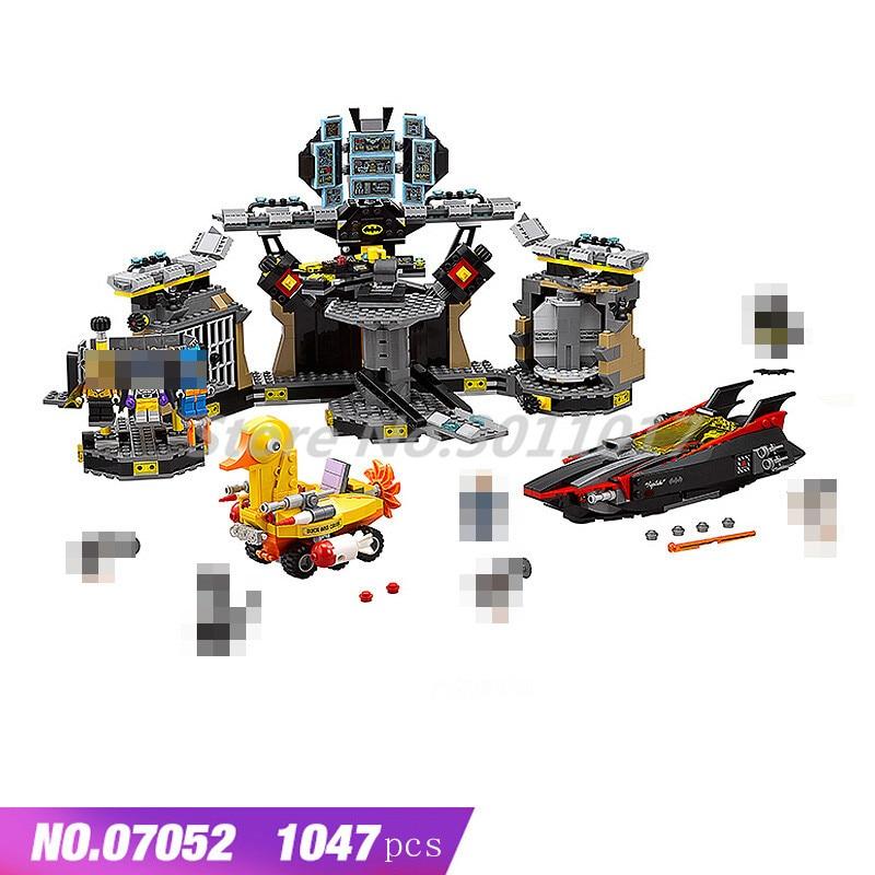 Batman Series Building Blocks Batcave Break-in Joker Car Chariot Arkham Asylum Breakout Toys For Children Compatible Legoings цена и фото