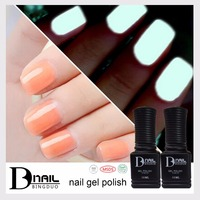 BD Soak Off Nail Art Polish Gel Glow In The Dark UV Gel Polish Fluorescent Neon