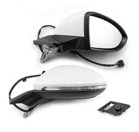 Genuine For Golf 7 Mk7 Auto Folding Mirror Electric Folding Side Mirrors With Light 5GG 857