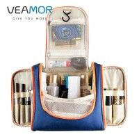 VEAMOR Portable Waterproof Cosmetic Bag Toiletry MakeUp Wash Organizer Storage Pouch Travel Kit Handbag Brand Design