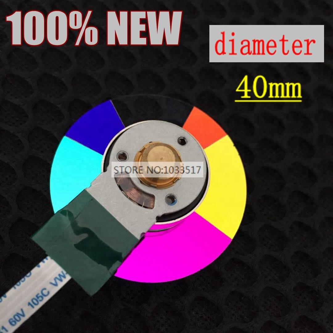 New original projector color wheel for benq MS500 MS510 MP515 MP772 MS500 PB5125 40mm