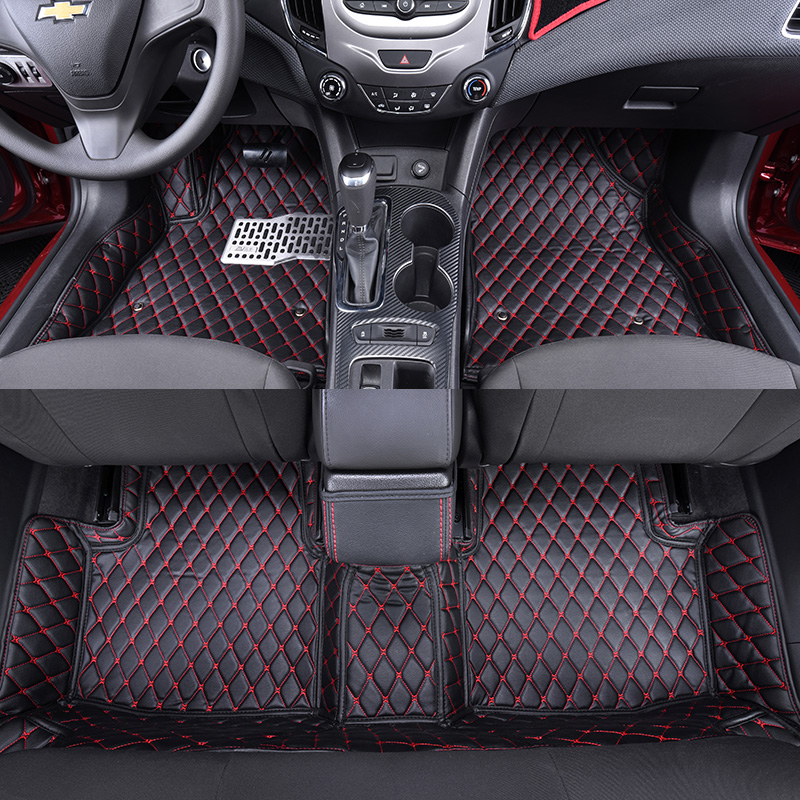 3d car styling polyurethane custom fit car trunk mat all weather tray carpet cargo liner for. Black Bedroom Furniture Sets. Home Design Ideas