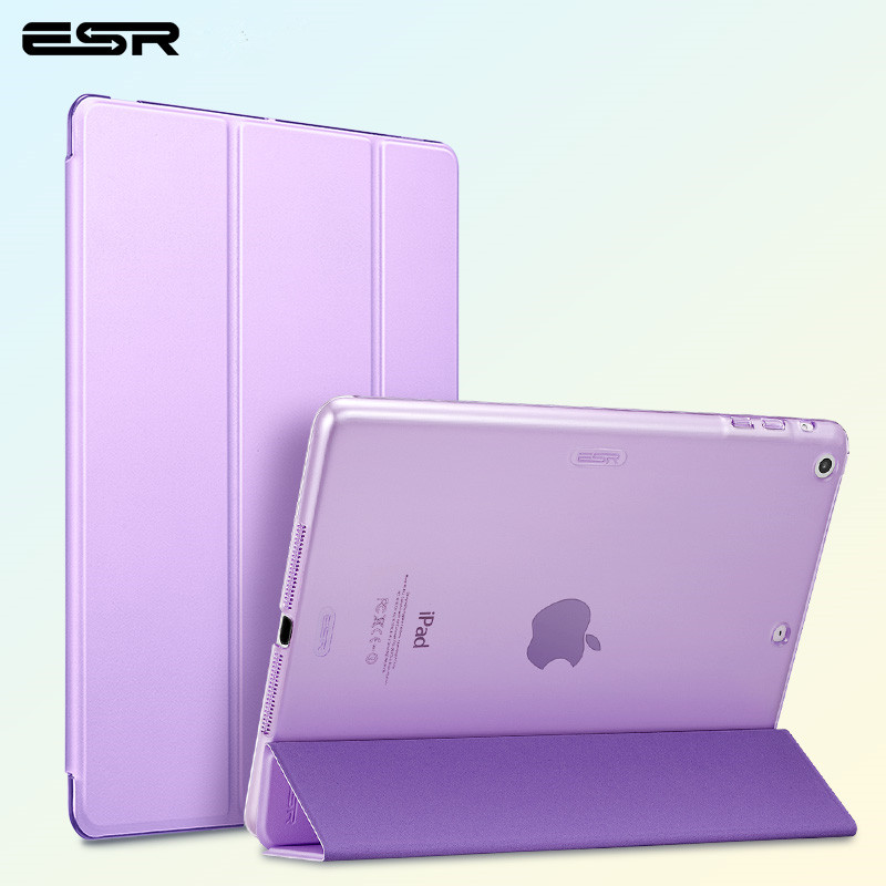 For ipad air case,ESR Magnetic PU Ultra Slim Smart Cover for ipad air 1,Auto Wake / Sleep Case for ipad 5 A1474 A1475 A1476 uomo fiero uomo fiero uo001emixd76