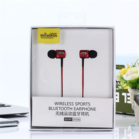 The New Bluetooth Wireless Headphone Sport Running Stereo Magnet Earbuds With Microphone Earphone Headset For IPhone