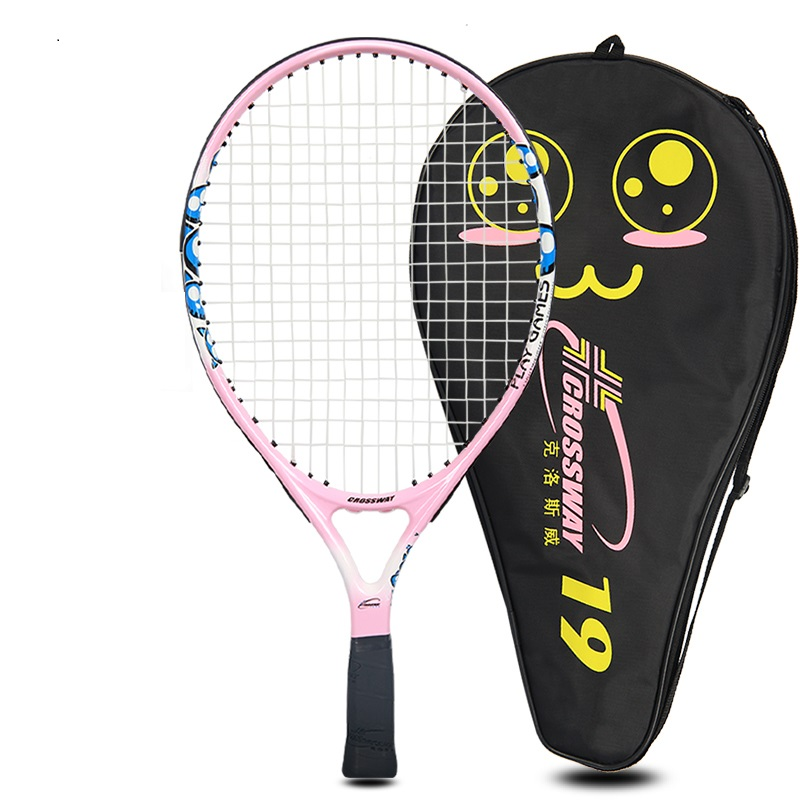 tennis racket Children's Professional Tennis Racket Racquet Sports Training Raquete With Bag For Kids (0 4years)