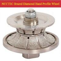 [95mm * 20mm] V20 diamant vakuum Gelötete hand profiling gestaltung disc NBWV9520 KOSTENLOSER versand ROUTER BIT VOLLE BULLNOSE 20mm-in Schleifmittel aus Werkzeug bei