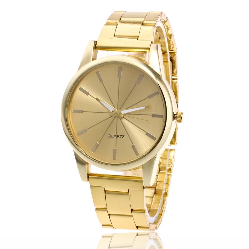 2018 Gold Watch Men Watches Top Brand Luxury Famous Wristwatch Male Clock Golden Quartz Wrist Watch Relogio Masculino relogio