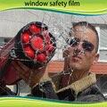 12 millas superficie protectora ventana película de seguridad, 60 '' * pies Anti daño raspe a prueba de balas para la construcción de vidrio