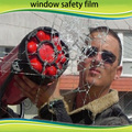 12mil Protective Surface Window  safety Film, 60'' * 33ft Anti damage scrape bullet proof film for building glass