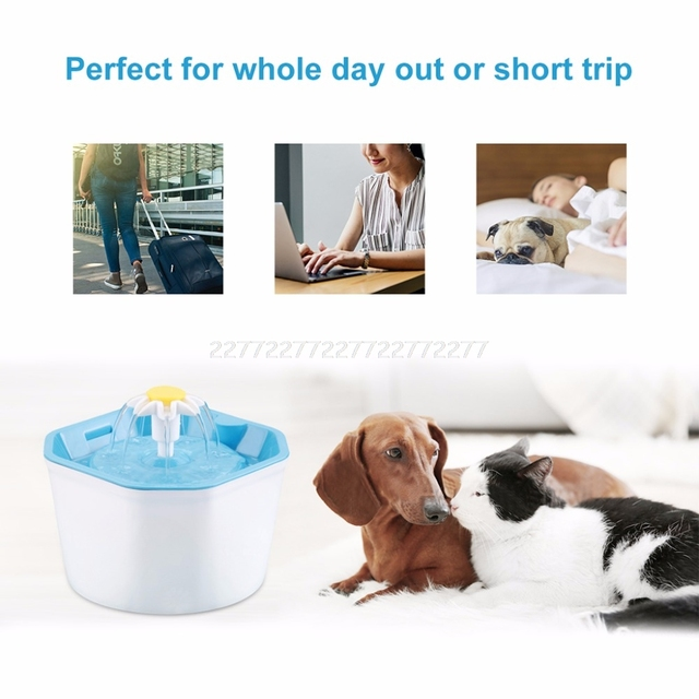 Automatic Cat Water Fountain 1.6L 3