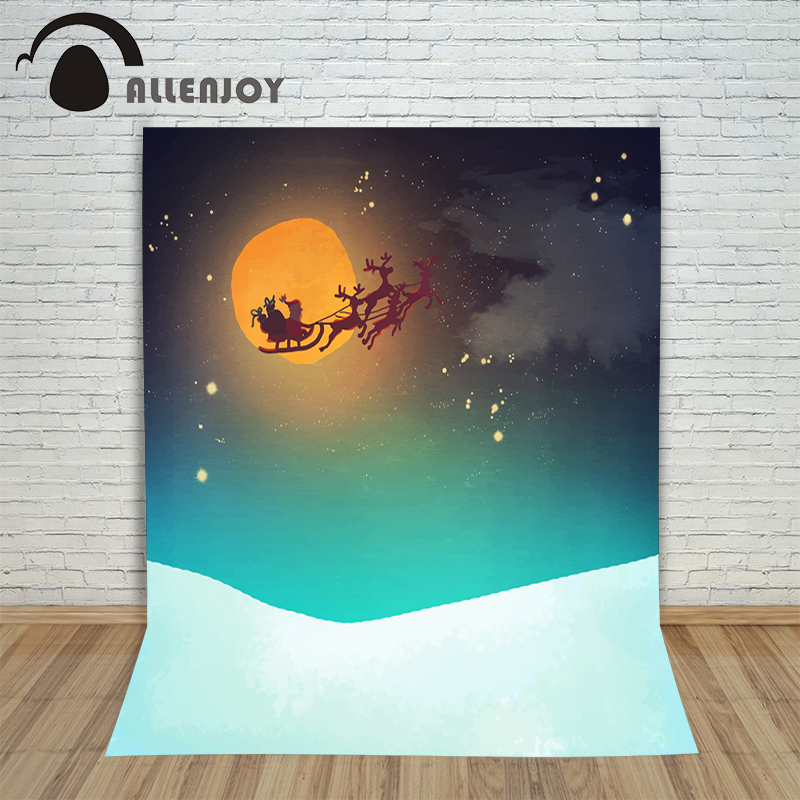 Christmas backgrounds for photography sled Santa claus season new year Background photographic vinyl children inflatable cartoon customized advertising giant christmas inflatable santa claus for christmas outdoor decoration