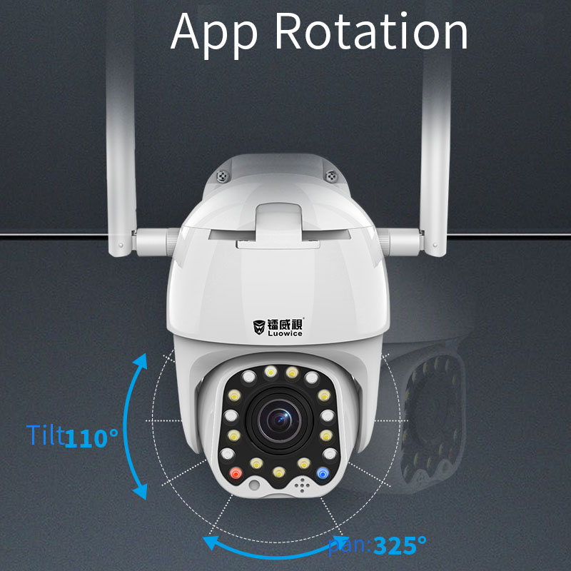 2MP Full hd Home Surveillance Cameras bulit in flash light /Night vsion /two way audio for dome camera Outdoor IP camera