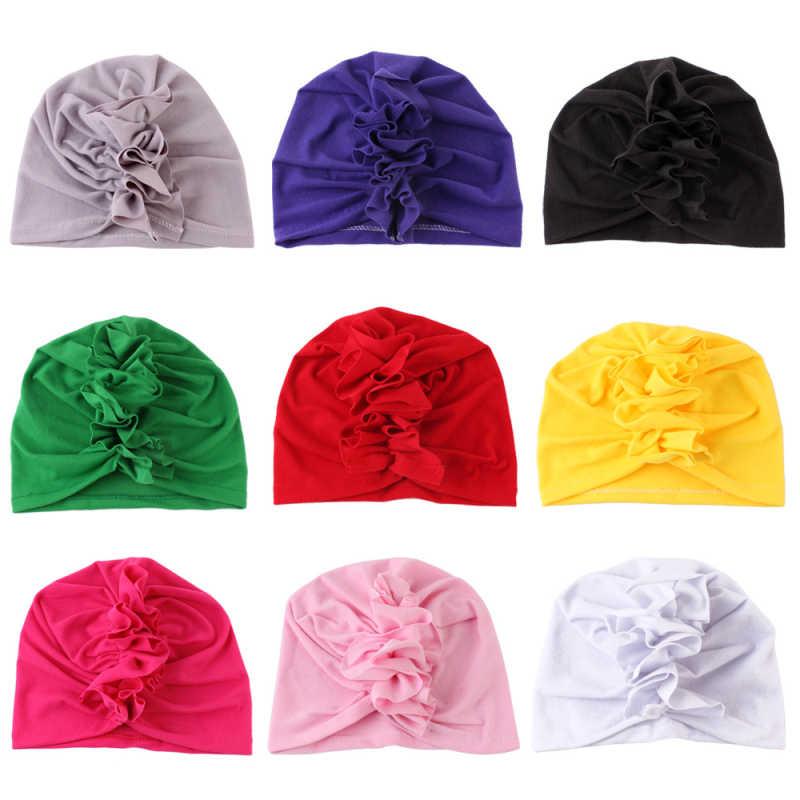 Nuevo turbante para bebés infantes niños niño niña India sombrero suave encantador Primavera Verano otoño verano sombrero recién nacido fotografía Accesorios
