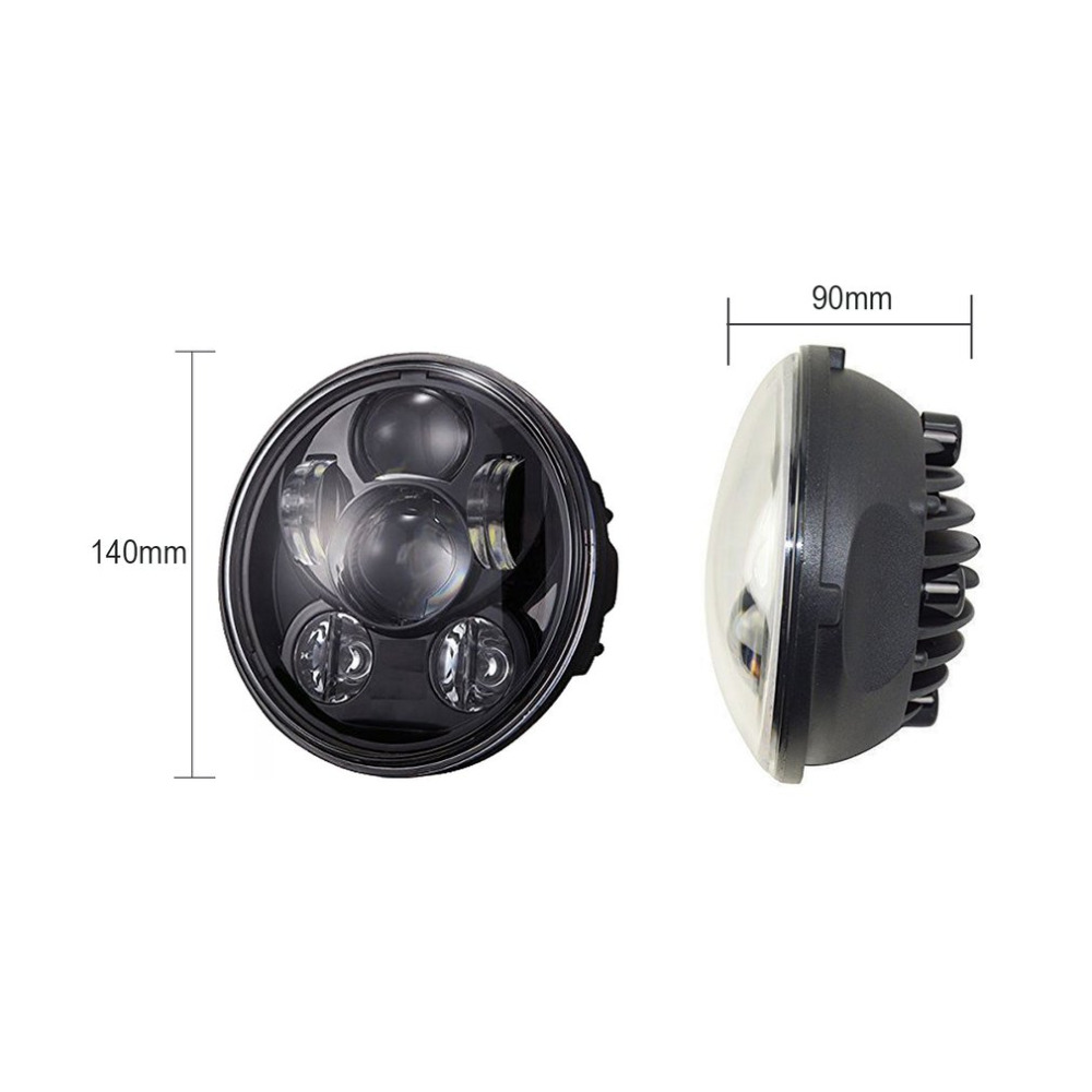 5.75 Projector LED Headlight 45W Motorcycle Headlamp Super Bright High-Low Beam Light For Harley For Davidson Hot Selling car led h4 headlight white 9004 9007 h13 headlamp hi lo beam automobile light source 60w 4400lm super bright plug