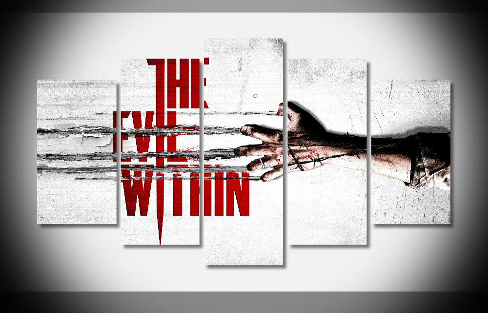 8327 The Survival Horror Game Poster The Evil Within poster Framed Gallery wrap art print home wall decor wall picture