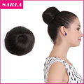 1PC Synthetic Hair Chignon Hair Bun Ring Donut Buns Hair Extensions Up Do Hairpieces Bun Hairpieces
