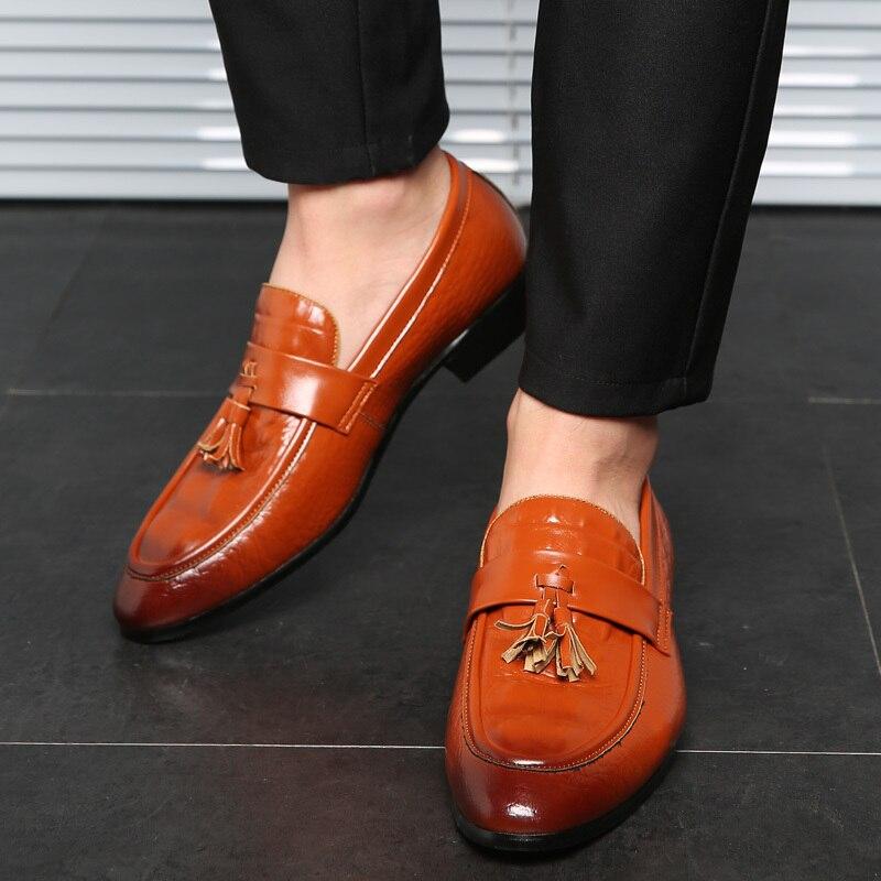 Handmade Men Dress Shoes 2019 Men
