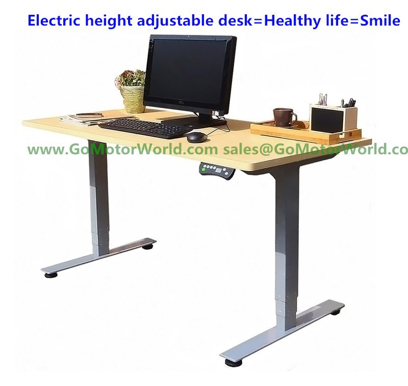 Electric height adjustable desk wholesaler