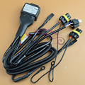 Car Styling 12V 35W/55W H4 H4-3 9003 HB2 Bixenon Bulbs Relay Harness High Low Beam Control Wiring Controller Hi/Lo Wire+Fuse