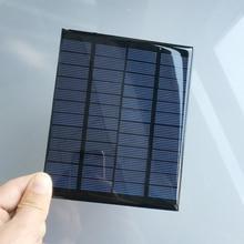 2pcs x 12V 2W 166MA Mini monocrystalline polycrystalline solar Panel charge for LED Solar garden lamp