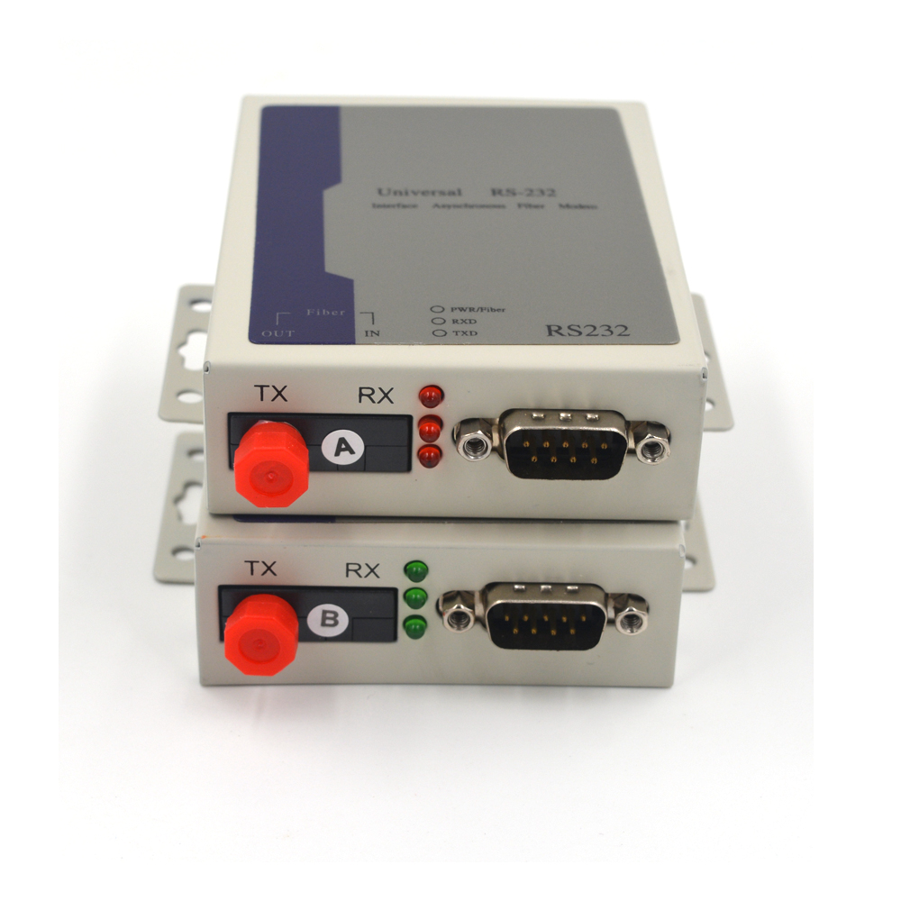12.4mi for Access Control System Primeda RS485 Data Extenders -1 Bidirectional RS485 to Fiber Optic up to 20Km | Transmitter and Receiver