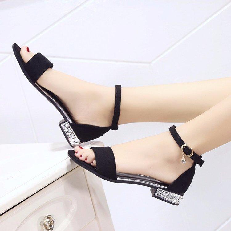Bas Poisson Noir D'été Pompes À Chaussures Stilettos 2019 gris Femmes Nouvelles Talons Pour Doux Sandales De Tête PwqORZ