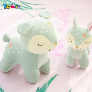 Image 4 - Cute Deer Plush Toy Soft Plush baby Doll Stuffed Animals Appease Toys Kids  Birthday Gifts Christmas Gifts Decoration Toy
