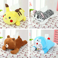 Plush toy 1pc cartoon Pikachu cheese cat Doraemon vehicle tissue paper towel cover decoration children stuffed gift for baby