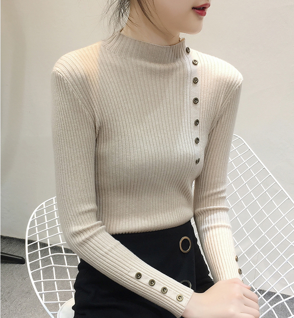 Women Sweater Turtleneck Sweaters Women Korean Fashion Woman Knitted Sweater Women Sweaters and Pullovers Winter Clothes Women 33