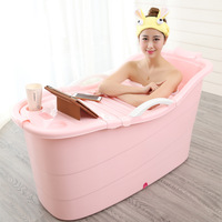 Price friendly Cheap Indoor Best Quality Folding Plastic Bath Tub For Adults Hot Sale High Quality Plastic Adult Bath Tub