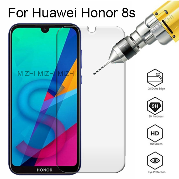 Original Glass For Huawei Honor 8s Screen Protector Protective Glass On Honor 8 S S8 KSE-LX9 Honor8s Safety Film 2.5d Glas 5.71