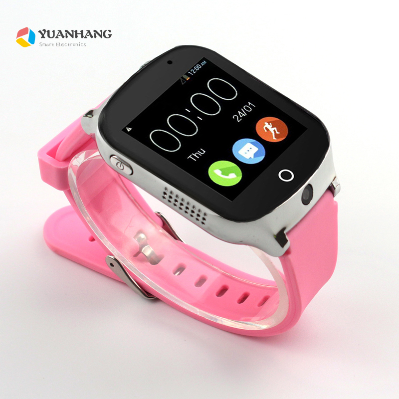 Smart Remote Camera GPS LBS WIFI Location 1.54 Touch Screen Kid Elder Child 3G SOS Call Monitor Tracker Alarm Watch Wristwatch 2018 new gps tracking watch for kids waterproof smart watch v5k camera sos call location device tracker children s smart watch