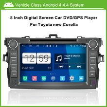 Android Car DVD player for Toyota Corolla Altis GPS Navigation Multi-touch Capacitive screen,1024*600 high resolution