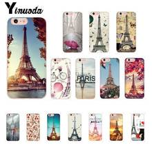 Yinuoda Love Paris Eiffel tower France Luxury Unique Phone Cover for iPhone8 7 6 6S Plus X XSMAX 5 5S SE XR 10 11 11pro 11promax yinuoda the vampire diaries ian somerhalder luxury phonecase for iphone8 7 6 6s 6plus x xs max 5 5s se xr 10 11 11pro 11promax