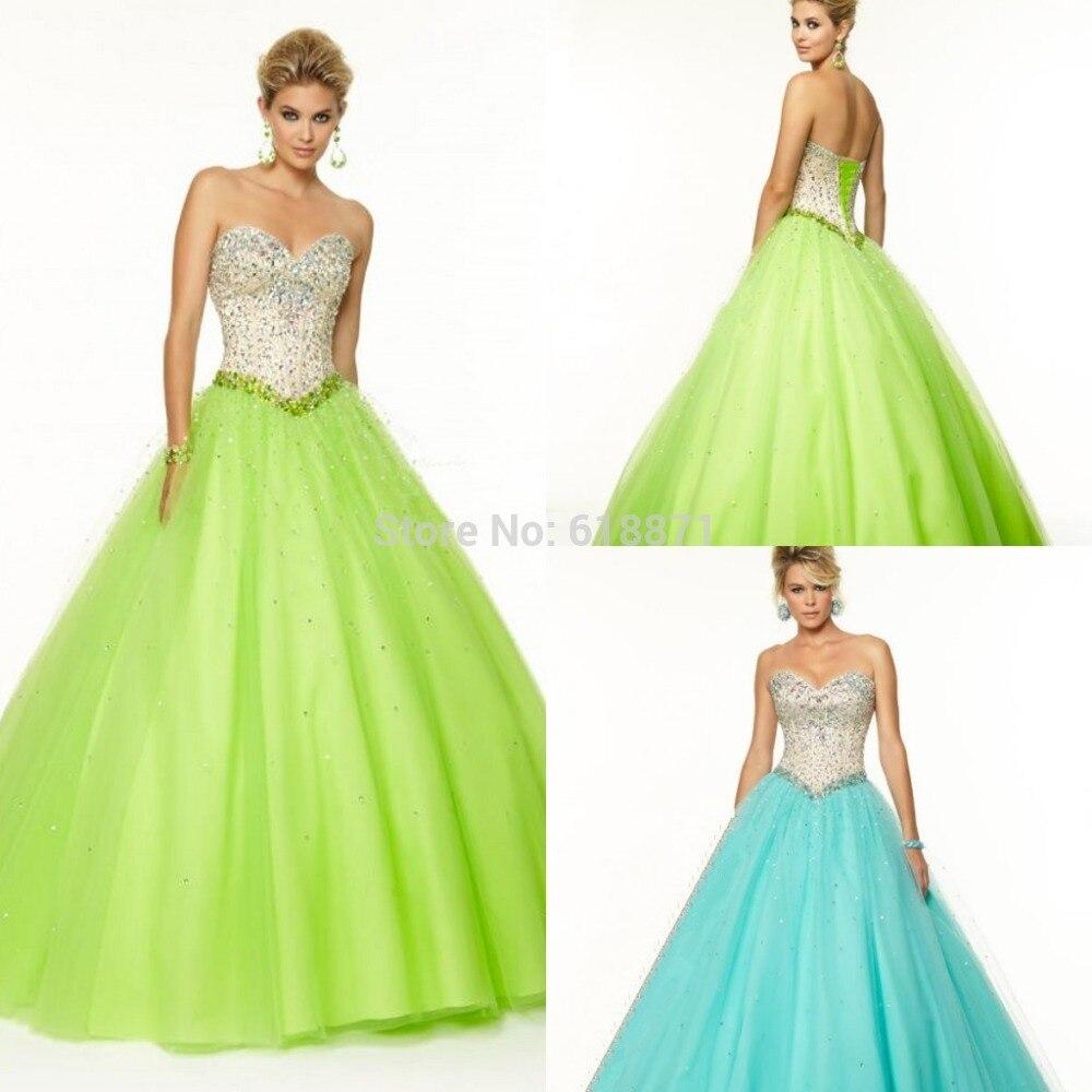 Aliexpress.com : Buy Nitree Ball Gown Prom Dress Night Crystal ...