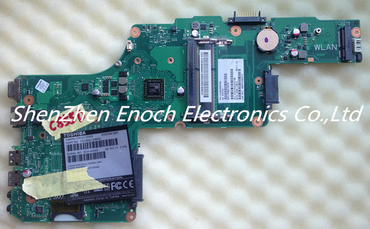 ФОТО For Toshiba Satellite L855D L850D Laptop Motherboard  V000275370 AMD E1200 6050A2509701-MB-A03  stock No.999