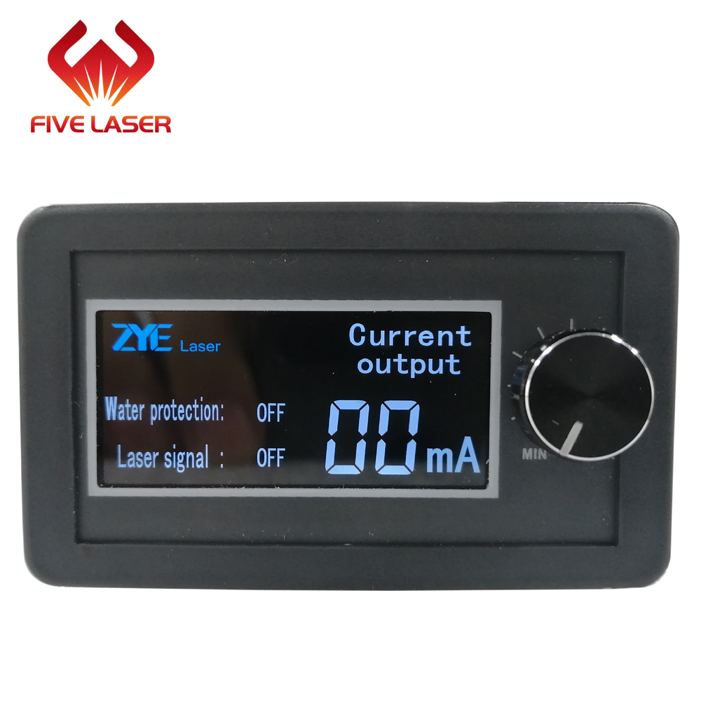 130w 150w laser tube used Zhenyu ZYE new generation laser power supply MYJG150W with LCD display current meter