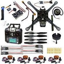 DIY FPV Drone Kit Welded  S600 4 axis Aerial Quadcopter w/ Pix2.4.8 Flight Control GPS 7M 40A ESC 700kv Motor FS-I6 TX RX
