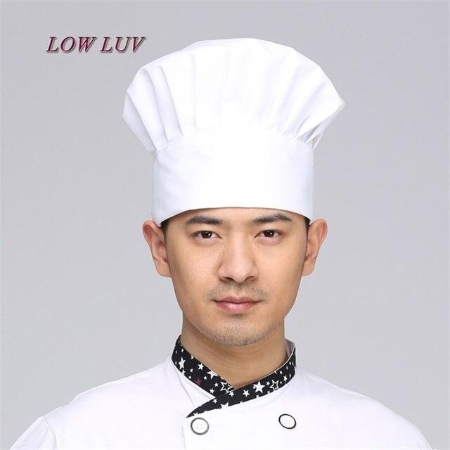 Topi Topi Topi Kerja kerja Cafe Restaurant Chef memasak Topi Kain  Kotak-kotak Bergaris 58ebe992d3