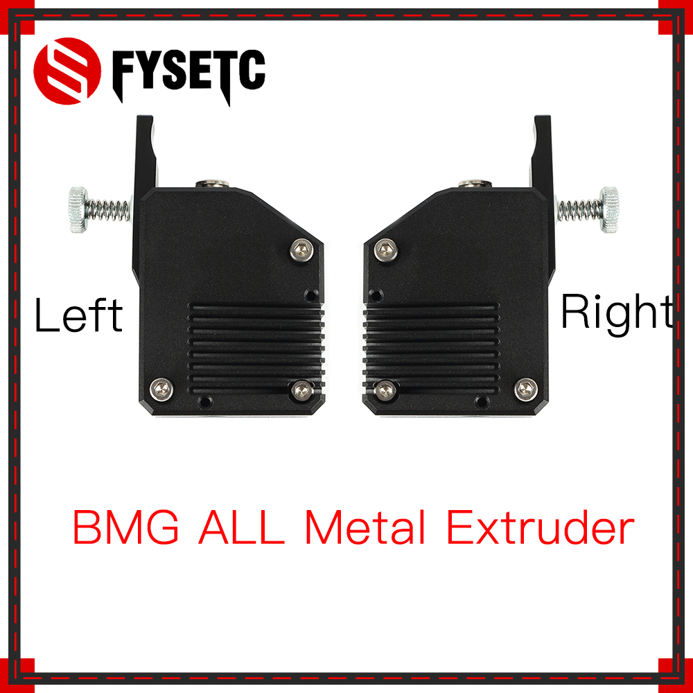 BMG All Metal Extruder Left/right Cloned Btech Bowden Extruder Dual Drive Extruder For Wanhao D9 Creality CR10 Ender 3 Anet E10