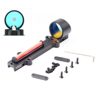 Fiber Optic Sight Light Airsoft Air Rifle Red/Green Fiber 1 x 28 Collimation Point Holographic Hunting Shooting Targeting new
